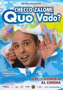 la locandina del film Quo vado di Checco Zalone