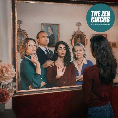 Copertina dell'album dei The Zen Circus Il fuoco in una stanza