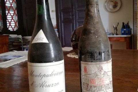 bottiglie di montepulciano
