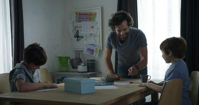 Le nostre battaglie di Guillaume Senez. Romain Duris interpreta Olivier. Foto Claire Nicol