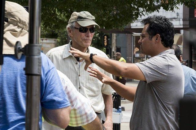 The Mule Il Corriere Clint Eastwood sul set