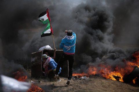 territori occupati gaza proteste