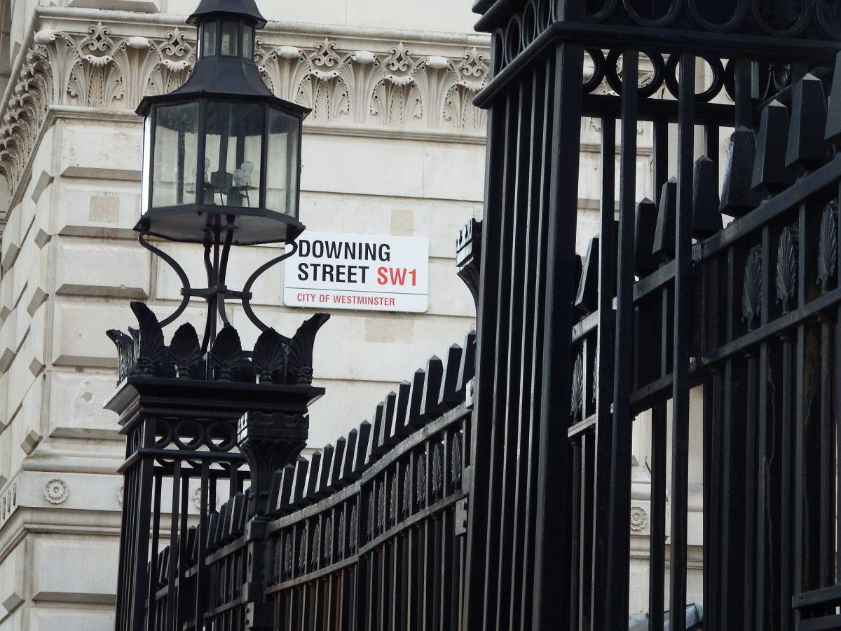 Dowing street Regno Unito Londra