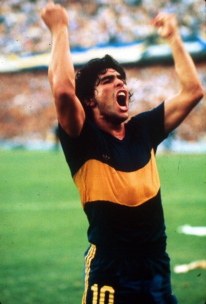 Diego Armando Maradona nel Boca Juniors – Mentinfuga