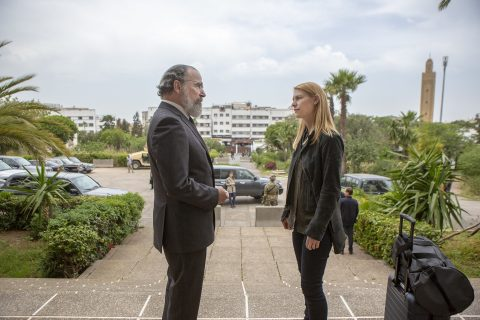 Claire Danes Mandy Patinkin Homeland