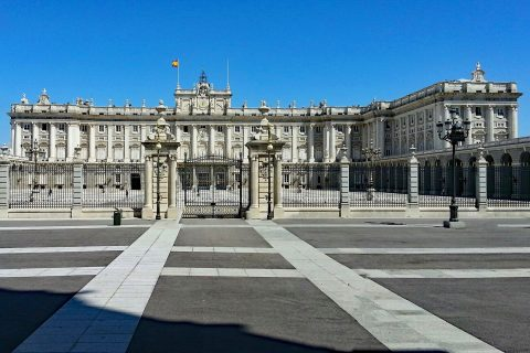 spagna palazzo reale madrid
