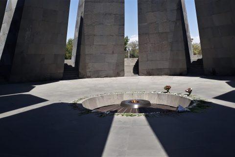 Armenia Yerevan mausoleo genocidio