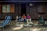 una famiglia di terremotati