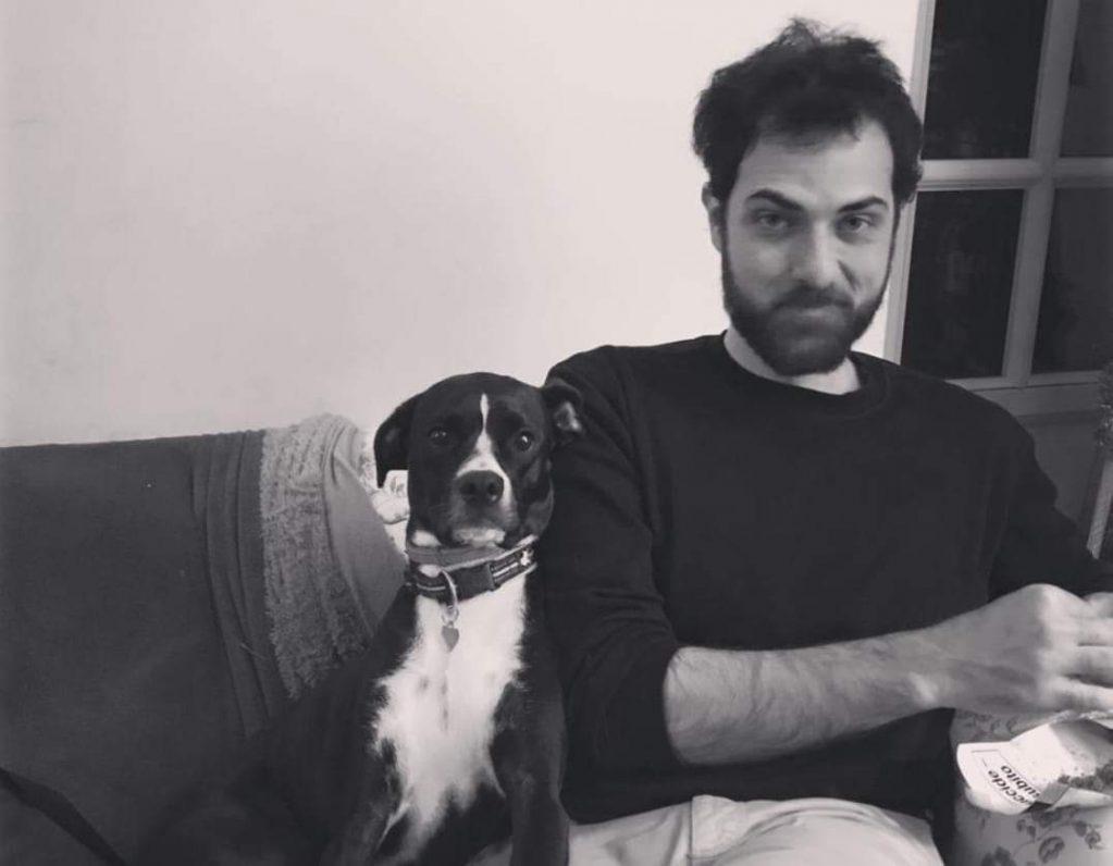 giovanni tateo e il suo cane