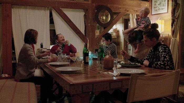 Ingrid, Alessandro, Isabella, Caleb, Lane con Ronin Elettra