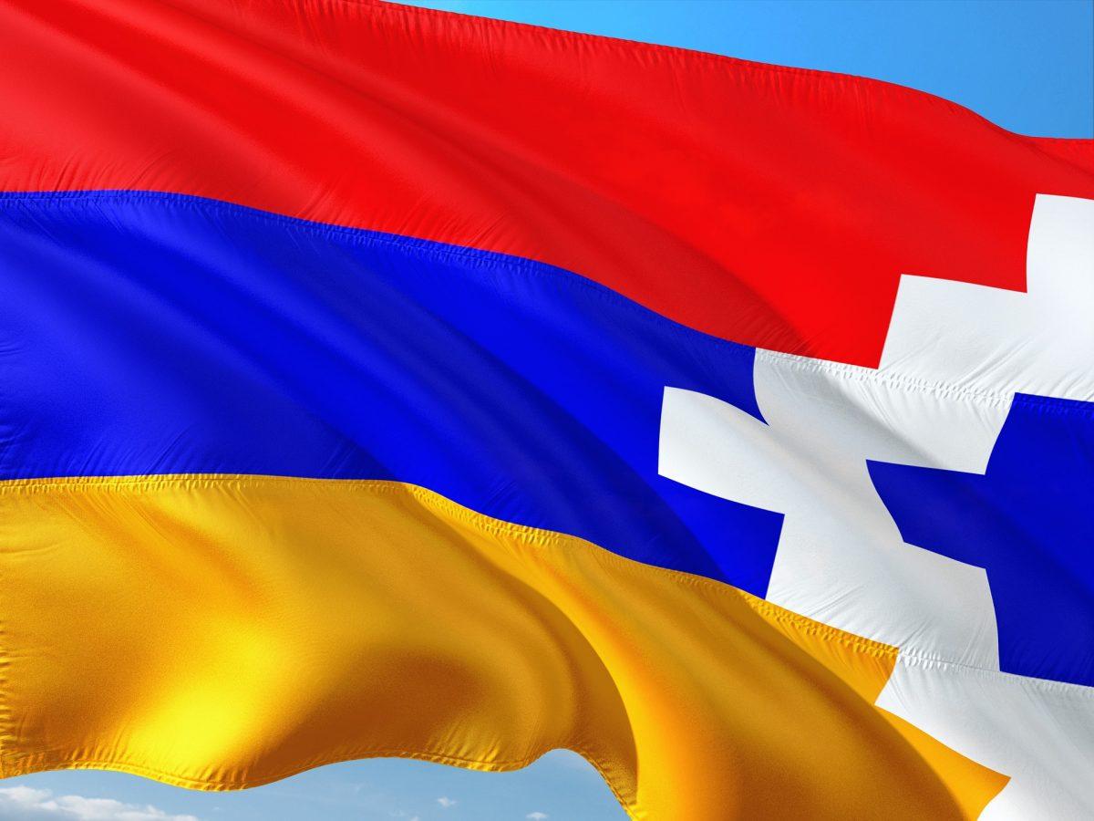 bandiera Nagorno Karabakh