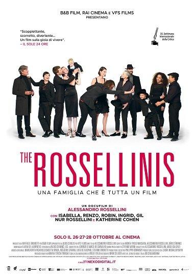 locandina the rossellinis