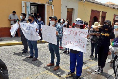 Manifestazione in Perù