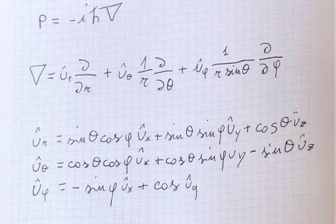 formule meccanica quantistica