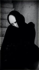 donna maschera