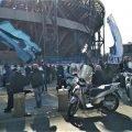 Napoli omaggio a Maradona