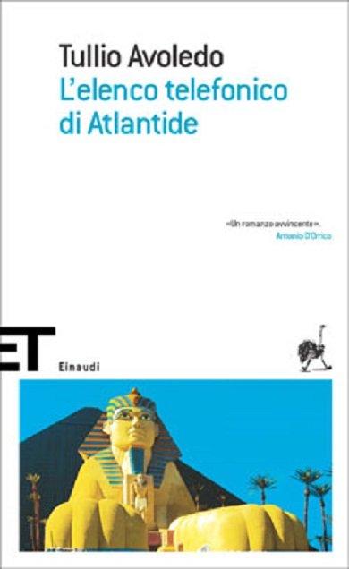 L'elenco telefonico di Atlantide Tullio Avoledo