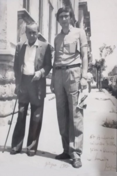 Leonardo Sciascia e Antonio Motta