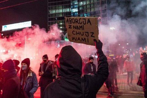 Polonia manifestazioni aborto