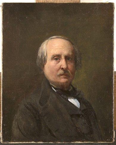 François-Auguste Biard autoritratto