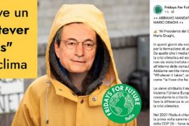 Fridays for Future lettera Mario Draghi 2021