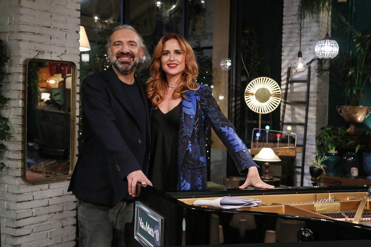 Stefano Bollani e Valentina Cenni in via dei matti numero 0