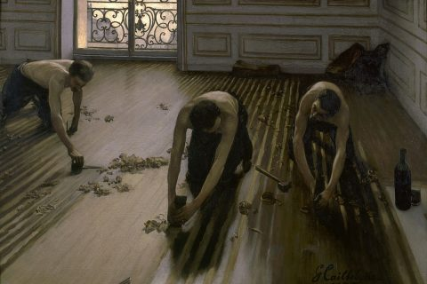 Gustave Caillebotte pittura realismo