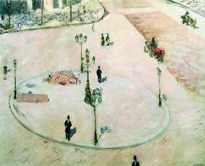Gustave Caillebotte pittura