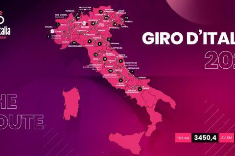 Giro d'Italia 2021 tappe