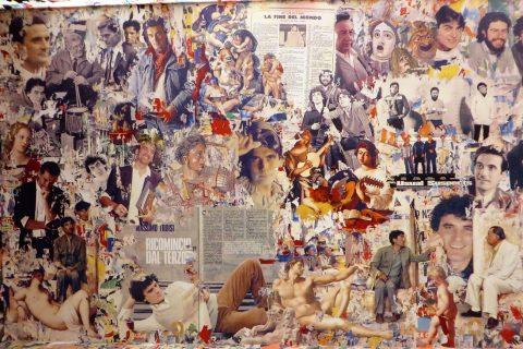 Mostra Troisi Poeta Massimo sala ritagli giornali