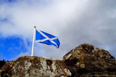 scozia bandiera