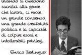 disuguaglianze sacrifici Berlinguer