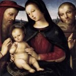 Madonna con bambino tra i Santi Girolamo e Francesco Raffaello