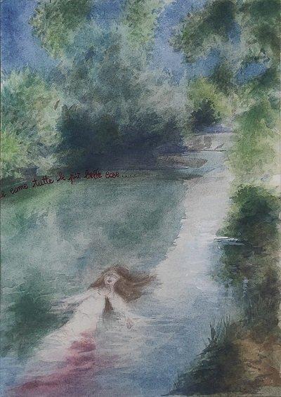 Paola Anatrella Marinella e il fiume