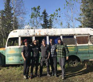 Chris McCandless bus
