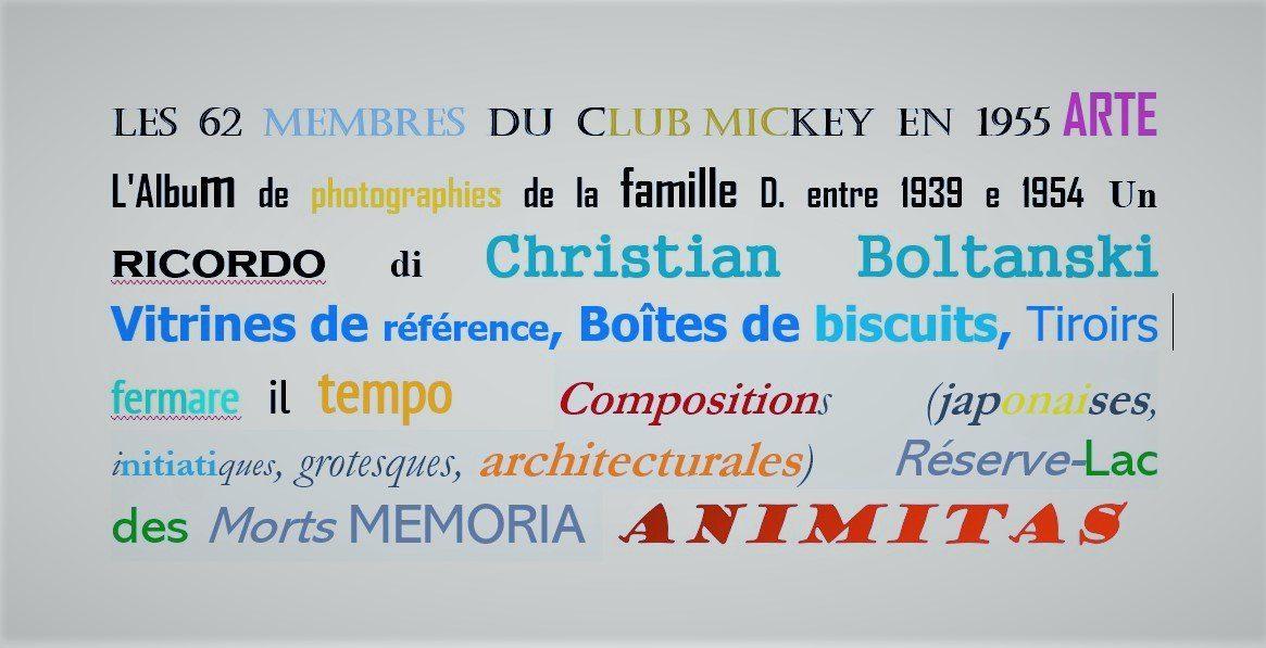 Un ricordo di Christian Boltanski