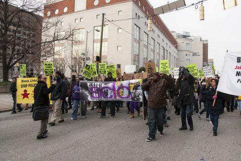 black lives matter manifestazione