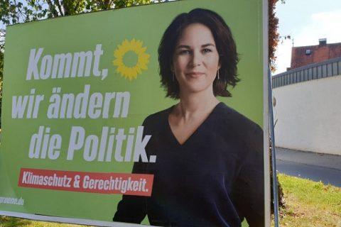 Germania elezioni manifesto Verdi